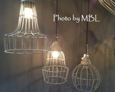 Draadlamp model 2 | Hanglampen | Met Brocant Label