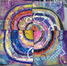 recycled circles: student work by janelafazio, via Flickr