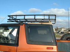 ZUKIWORLD Reviews: Calmini Roof Rack for Suzuki Sidekick / Geo Tracker
