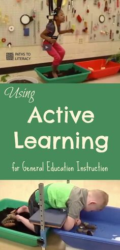 Guidelines to use Active Learning for General Education instruction, including writing IEP goals for learners with significant multiple disabilities.