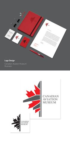 Canadian Aviation Museum (Logo Redesign) by Stephanie Cansfield, via Behance