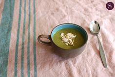 Curried Zucchini Soup with Coconut Milk