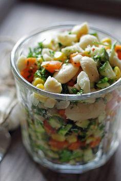 nem salat med butterbeans