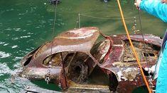 So that's where I parked that car! Mystére de la 356 dans le lac de Lucerbn=ne  (ch) BBT Blog2 #porsche