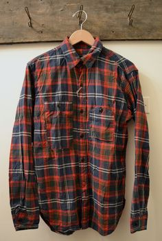 Engineered Garments - Plaid Flannel Work Shirt