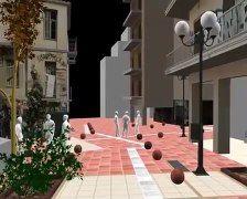 6 Δεκέμβρη 2008 - Εξάρχεια H 3D αναπαράσταση της δολοφονίας του Αλέξη Γρηγορόπουλου από μπάτσο + @dailymotion