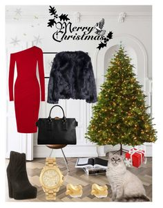 """""""1/7"""" by martinapetkovic ❤ liked on Polyvore featuring Martha Stewart, Donna Karan, Steve Madden, Burberry, H&M, Michael Kors and Kate Spade"""