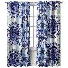 www.target.com p haze-curtain-panel-52-x84-blue-boho-boutique - A-14676495