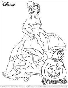 halloween disney coloring page disney halloween pinterest