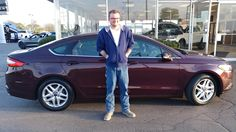 Thank you, Eric for the opportunity to help you with your new 2013 ford fusion!  All the best, Kunes Country Ford Lincoln of Sterling and John Thayer.