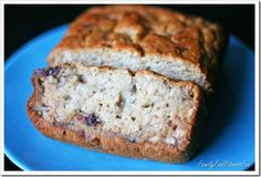 Moist & Healthy Banana Bread  Low fat, high fibre, low sugar & choles