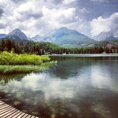 Strbske pleso, Vysoké Tatry, Slovakia — by Michaela Balazsova. The High Tatra…