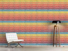 Design #Tapete Flüssige Streifen