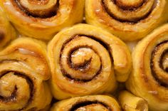 Vegan Cinnamon Rolls.      Tip:  don't melt the butter for the filling, it makes a huge mess when you roll them up to cut them!  Just sprinkle your cinnamon and then place squares of butter all over before rolling.