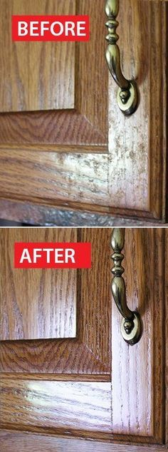 How To Clean Grease From Kitchen Cabinet Doors  Kitchen Cabinet Pleasing Cleaning Kitchen Cabinet Doors Inspiration