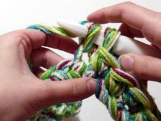 belt idea....   take 5-6 colors .. wind together. then crochet a row or two with them and you have a belt!