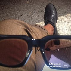 T's eyeview spying TLace oxfords. Lace Oxfords, Sunnies, Sunglasses, Bespoke Tailoring, Bergen, Leather Shoes, Norway, Menswear, App
