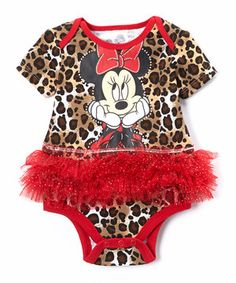 How cute is this mickey onesie? Another great find on Red Minnie Mouse Tutu Bodysuit - Infant Cute Outfits For Kids, Cute Kids, Baby Outfits, Little Girl Fashion, Kids Fashion, Red Minnie Mouse, Disney Inspired Fashion, Bodysuit, Onesie