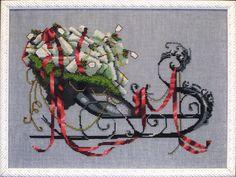 NC122 Christmas eve couriers - Santa Sleigh 6/6