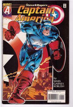 Captain America #445 Nov 1995 Marvel Comic Book Steve Rogers Operation Rebirth