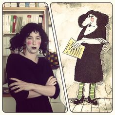 "Funny & cute HALLOWEEN COSTUMES for TEACHERS,  LIBRARIANS, etc! Most based on favorite kids BOOKS or games! Here is ""The Swamp"" (Miss Viola Swamp from Miss Nelson is Missing) 