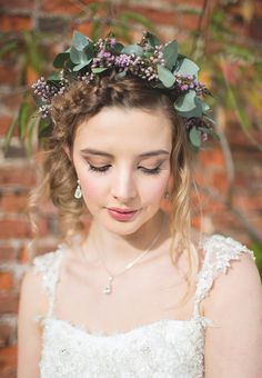 Fresh Pretty Peach Bride Make Up Beauty Feminine Bohemian Beautiful Bridal Ideas http://www.photographsbyeve.co.uk/