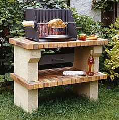 Construire un barbecue en briques - Check out good BBQ supplies and equipment at TexasBBQNinja.com