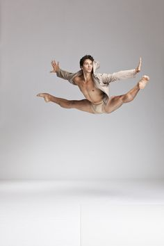 Male dancers get such incredible height...