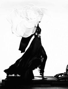 Katrin Thormann in ELIE SAAB Spring/Summer 2013 For French Revue de Mode