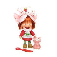 Strawberry Shortcake Doll with Custard Cat by BrownEyedRose