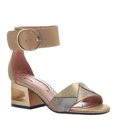 fd2f2d9a6007 Women s Poetic Licence Splatter Ankle Strap Sandal - New Tan Leather Sandals