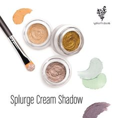 Another great Younique Stocking Stuffer: Splurge Cream Shadow!