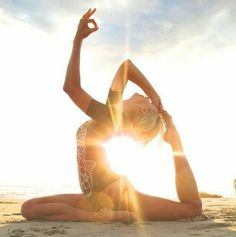 Sun yoga breath