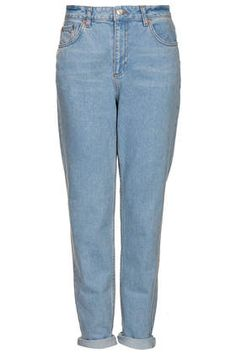 topshop MOTO BABY BLUE WASH MOM JEANS