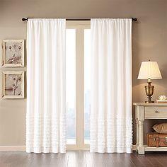 (One Panel Rod Pocket) Nancy Window Curtain Panel – USD $ 29.99 - Chy's room