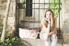 Tongue>bag >>> Ikat Classic Bourdeaux