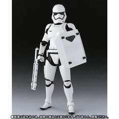 P-Bandai S.H.Figuarts First Order Stormtrooper (Shield and Baton Set) Official Big Size Images, Info Release | GUNJAP