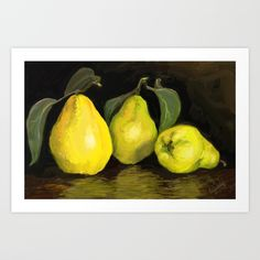 Quinces The original picture is digital painting Lovely unique lounges on mothers day or for another occasion. Lounges, Love Art, Unique Art, Mothers, Cool Pictures, Passion, Art Prints, Contemporary, Fruit