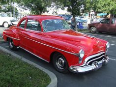 1950 oldsmobile coupe