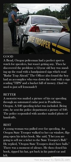 Hilarious cop moments - Click image to find more Humor Pinterest pins