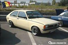 Opel Kadett city on banded SR steelies
