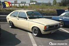 Opel Kadett city on banded SR steelies