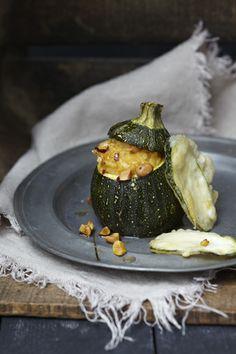 la petite cuisine: asian styled zucchini coconut risotto with tempura