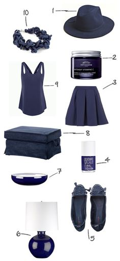 navy blue!  You'll need to add some sparkly jewels to make this outfit pop. You can find those at www.mytouchstonecrystal.com/joyalea