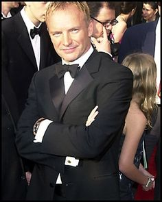 """The name is Sumner, Gordon Sumner""  Sting @ 2001 Academy Awards"