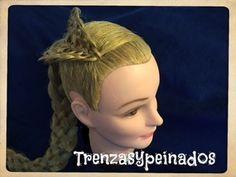 Peinado Tejido Canasta en 3-D – 3-D Basket Weave Hairstyle