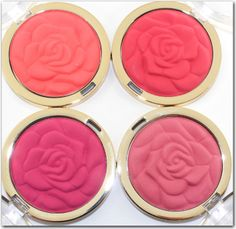 @Milani Cosmetics  Coming Up Roses Blushes 2014