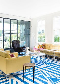 Living room in Australia