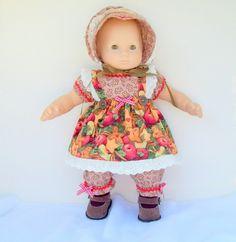 Gingerbread Baby Doll Outfit   leoniesdollfashions - on ArtFire