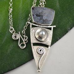 Silver+Metalsmith+Pendant++Handcrafted+by+DeborahCloseDesigns,+$210.00
